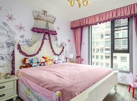 120平米三室一厅美式风格儿童房效果图