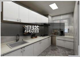 130平米三室一厅混搭风格厨房装修效果图