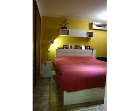 富裕型80平米混搭风格卧室欣赏图