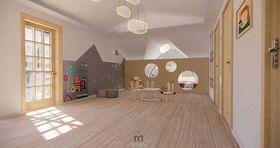 140平米复式北欧风格阁楼欣赏图