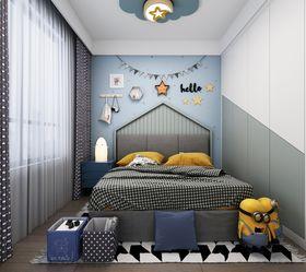 140平米复式美式风格儿童房设计图