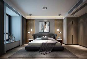 140平米三室三厅现代简约风格卧室设计图