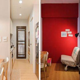 140平米公寓现代简约风格阳光房图片