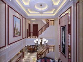 140平米别墅欧式风格楼梯装修案例