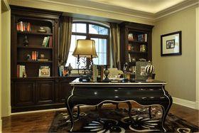 140平米四室三厅法式风格书房装修效果图