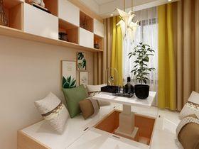 110平米三室两厅现代简约风格书房欣赏图
