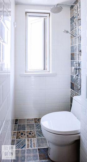 经济型60平米一室一厅北欧风格卫生间设计图