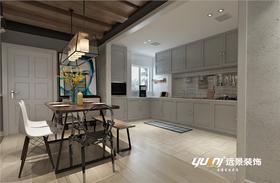 110平米复式北欧风格厨房效果图