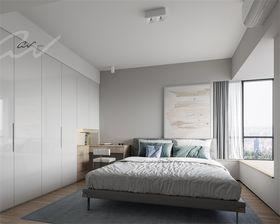 60平米三室兩廳現代簡約風格臥室裝修案例