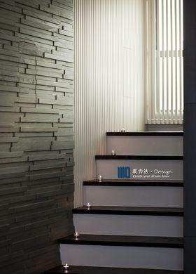 140平米四室兩廳現代簡約風格樓梯間裝修圖片大全