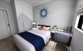 90平米現代簡約風格臥室裝修效果圖