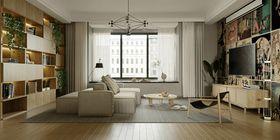 120平米四室兩廳混搭風格客廳圖片