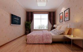 5-10万110平米三室一厅现代简约风格卧室图片