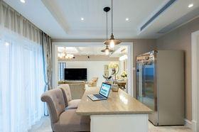 90平米三室两厅美式风格厨房装修图片大全
