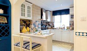 80平米复式地中海风格厨房效果图