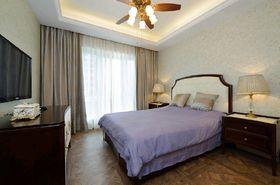 140平米四田园风格卧室装修案例