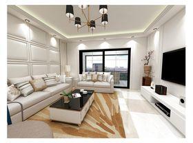 140平米三室一厅其他风格客厅装修效果图