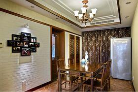 20万以上140平米三室两厅中式风格餐厅欣赏图