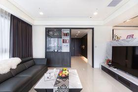 富裕型100平米现代简约风格客厅装修图片大全