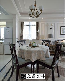 80平米三室两厅法式风格餐厅装修案例
