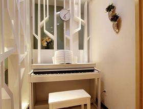120平米三室两厅现代简约风格影音室图