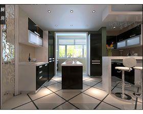 20万以上140平米别墅现代简约风格厨房装修图片大全