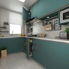 3万以下30平米以下超小户型中式风格厨房欣赏图