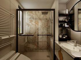140平米复式中式风格卫生间装修案例