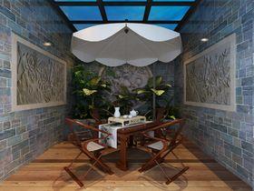 20万以上140平米别墅中式风格阳光房图
