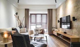 100平米三室两厅现代简约风格客厅欣赏图