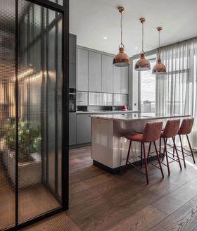 70平米复式混搭风格厨房效果图