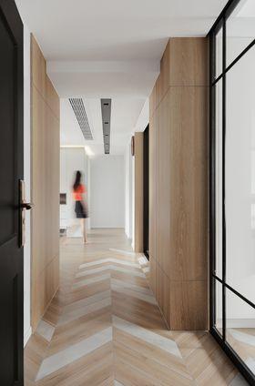 130平米现代简约风格走廊设计图