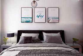 经济型80平米混搭风格卧室图