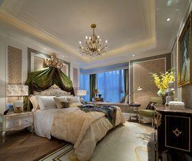90平米三室一厅新古典风格卧室装修案例