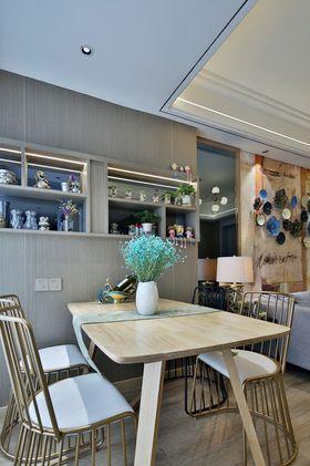 60平米一居室美式风格餐厅图