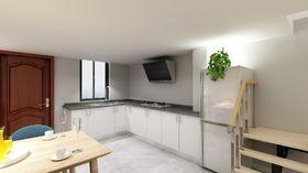 70平米复式混搭风格厨房装修案例