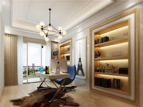 140平米复式混搭风格书房图片
