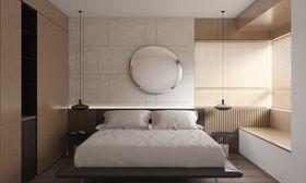110平米三室一厅日式风格卧室效果图
