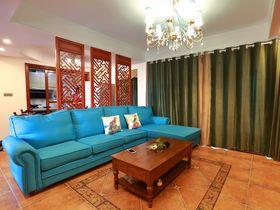 100平米三室两厅中式风格客厅欣赏图