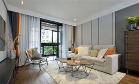 90平米現代簡約風格客廳沙發圖片大全