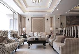 20万以上140平米三法式风格客厅装修图片大全
