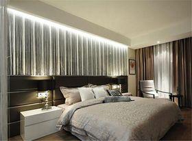 10-15万110平米三室一厅北欧风格卧室效果图