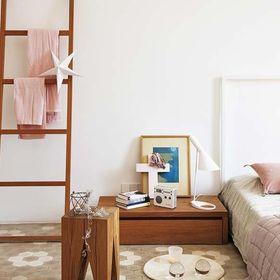 100平米三室一廳現代簡約風格臥室裝修效果圖