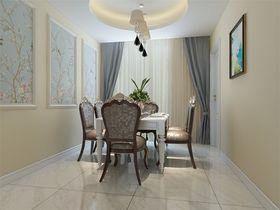 140平米三室两厅混搭风格餐厅欣赏图