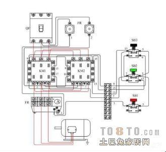求一份my2nj继电器接线图~感谢大家         以下为my4n 的底视图