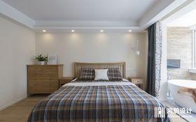 20万以上140平米四室两厅北欧风格卧室设计图
