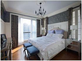 20万以上140平米四室两厅混搭风格卧室设计图