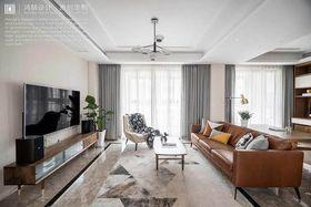 140平米三现代简约风格客厅欣赏图