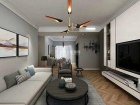 130平米三室兩廳現代簡約風格客廳欣賞圖