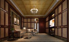 20万以上140平米别墅新古典风格影音室装修效果图